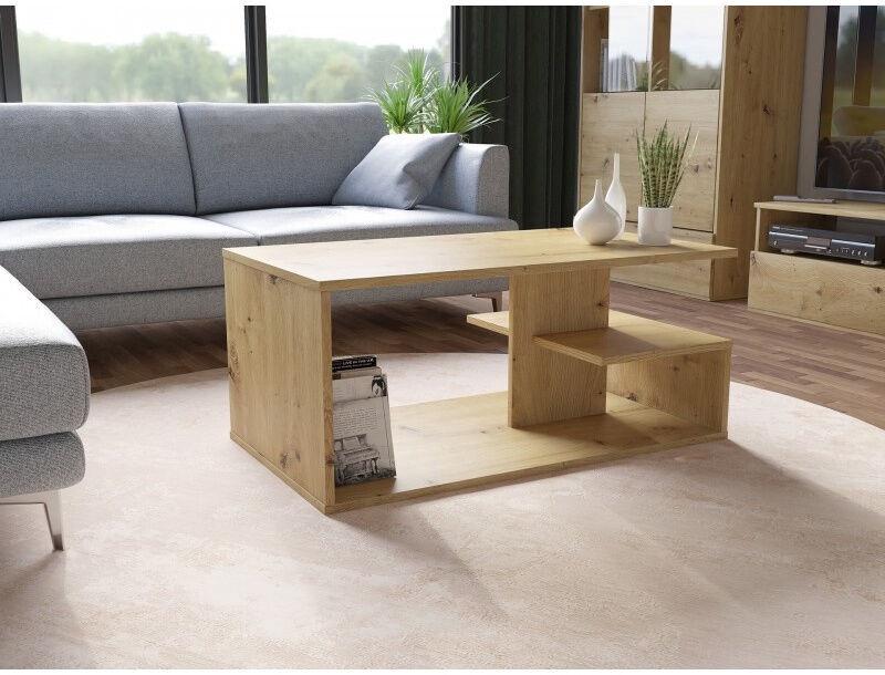 Kavos staliukas Top E Shop Dallas Artisan, ąžuolo, 910x510x400 mm