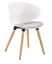 Стул для столовой Halmar K308 White/Gray