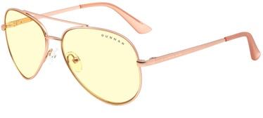 Защитные очки Gunnar Maverick Amber Glass Rose Gold