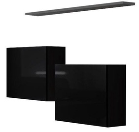 ASM Switch SB I Hanging Cabinet/Shelf Set Black/Graphite Matt