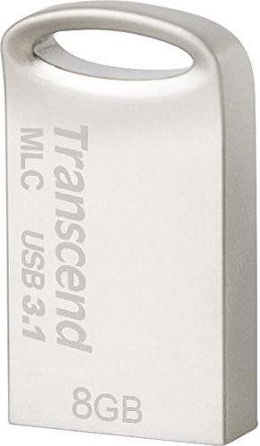 USB флеш-накопитель Transcend JetFlash 720 Silver, USB 2.0, 8 GB