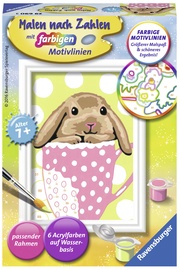 Ravensburger Painting By Numbers Bunny 296903