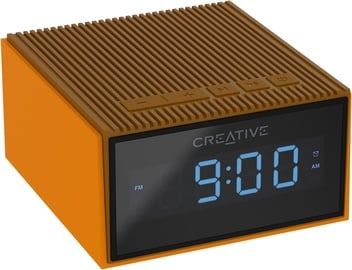 Creative Chrono Wireless Speaker with FM Radio Orange