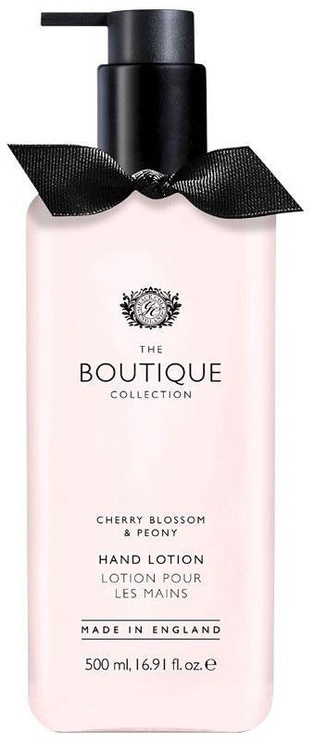 The English Bathing Company Boutique Hand Lotion 500ml Cherry Blossom & Peony