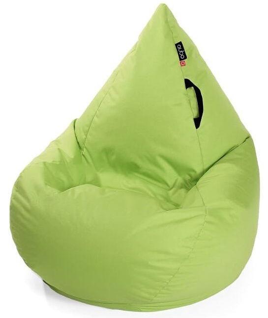 Кресло-мешок Qubo Wave Drop Fit, зеленый, 200 л
