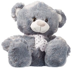 Axiom Plush Silver Collection Teddy Bear Grey 25cm