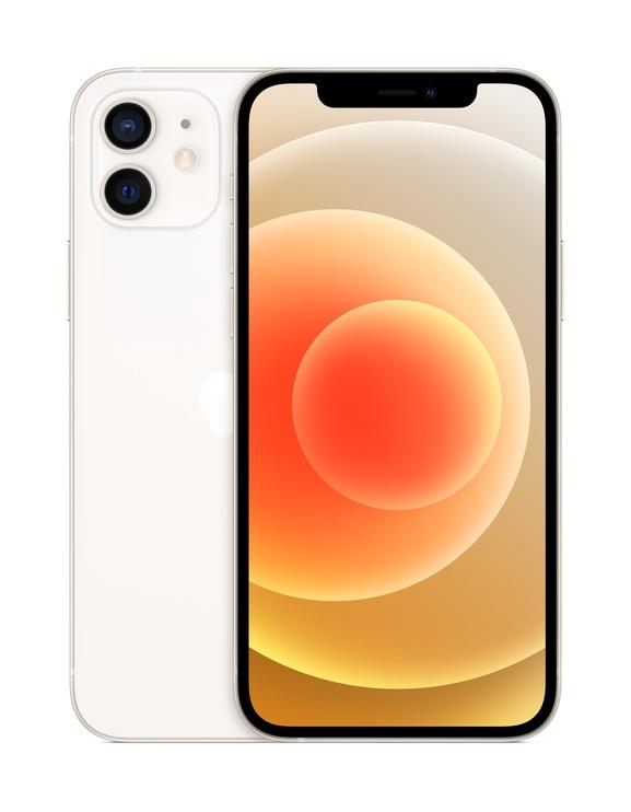 Мобильный телефон Apple iPhone 12, белый/64GB