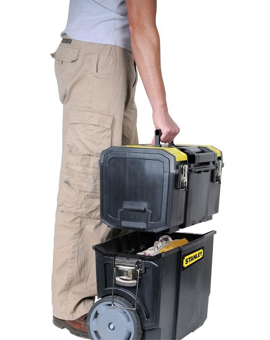 Tööriistakohver ratastel Stanley 1-70-326, 3in1