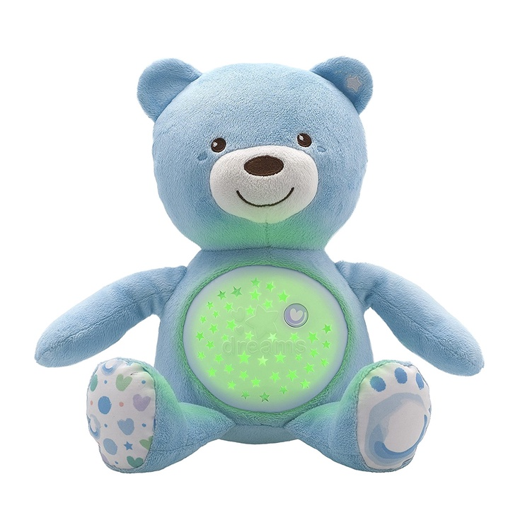 Žaislas meškiukas - migdukas Chicco First Dreams 08015.20, 0 mėn.
