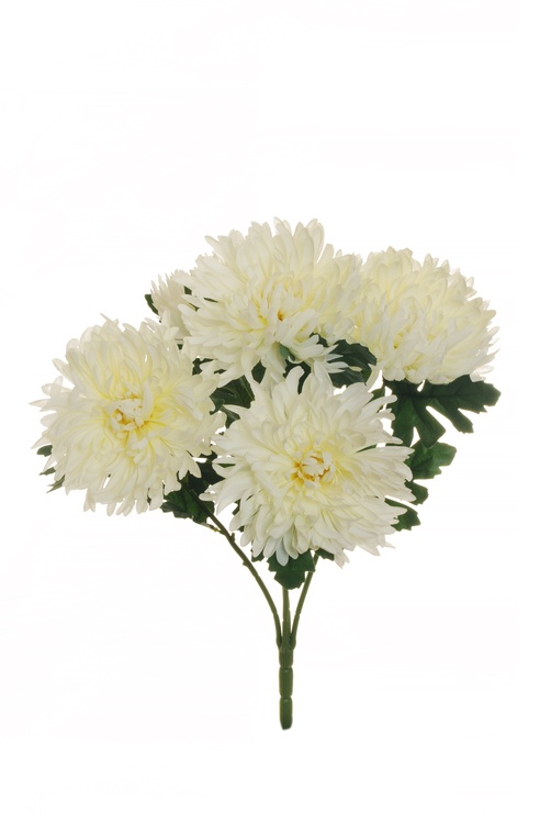 Artificial Flower Bouquet 54cm White 80-310842