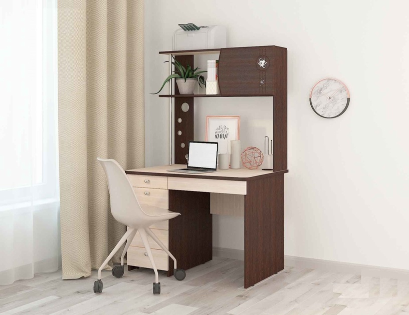 DaVita Orion 8.10 Desk Wenge Oak/Koburg Oak