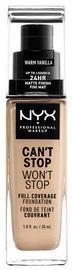 Tonizējošais krēms NYX Can't Stop Won't Stop CSWSF6.3 Warm Vanilla, 30 ml