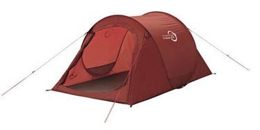 Divvietīga telts Easy Camp Fireball, sarkana