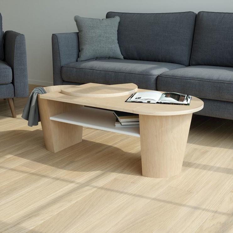 Kafijas galdiņš Umbra Woodrow, brūna, 1190x510x400 mm