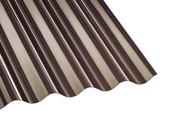 Laineplaat polükarbonaadist pronks SINUS76/18 1,045x2m
