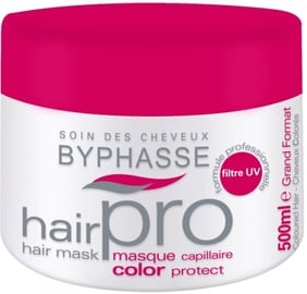 Kaukė plaukams Byphasse Pro Coloured Hair, 500 ml