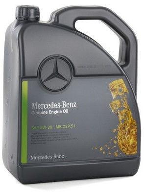 Motoreļļa Mercedes-Benz MB 229.51 5W - 30, vieglajam auto, 5 l