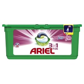 Skalbimo kapsulės Ariel Touch of Lenor 3 in 1, 28 vnt