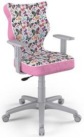 Bērnu krēsls Entelo Duo Size 5 ST31 Grey/Pink, 400x375x1000 mm