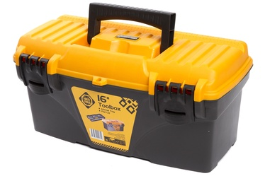 Forte Tools CS-16 Toolbox 410x209x195mm Black/Yellow