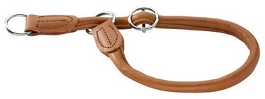 Hunter Collar Round & Soft 55/10 Brown Leather