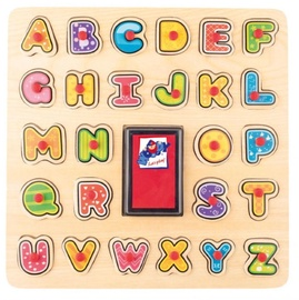 Woodyland Wooden Puzzle Stamps ABC 27pcs