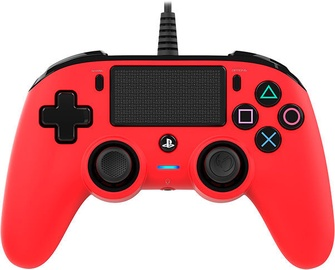 Bigben Nacon Compact Controller Wired Illuminated Red