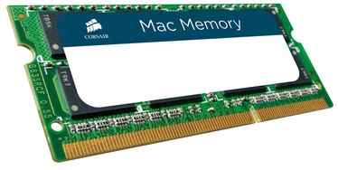 Operatīvā atmiņa (RAM) Corsair Mac Memory CMSA4GX3M1A1333C9 DDR3 (SO-DIMM) 4 GB