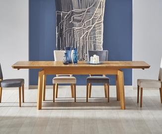 Pusdienu galds Halmar Rois Oak, 1600 - 2500x900x780 mm