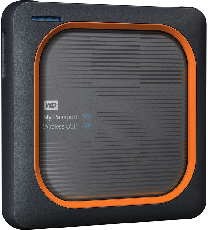 Western Digital 2TB My Passport Wireless SSD Silver