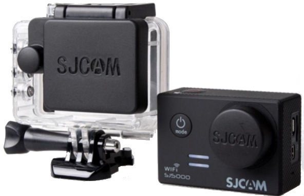 SJCam Original SJ5000 SJ5000 Wi-Fi SJ5000x Elite Protective Housing and Camera Lens Caps Cover Kit