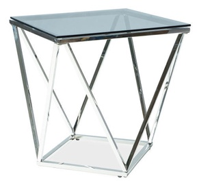 Signal Meble Silver B Table 50x50cm Silver