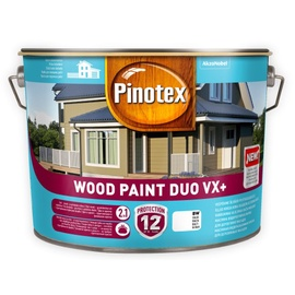 Dažai Pinotex Wood Paint Duo VX+, balti, 10 l