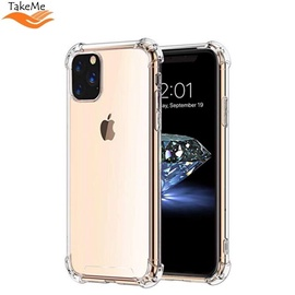 TakeMe Anti-Shock Cover Case For Apple iPhone 11 Pro Transparent 0.5mm