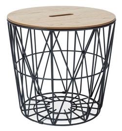 Kafijas galdiņš Signal Meble Hera Oak, 480x480x450 mm