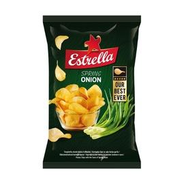 Traškučiai Estrella su svogūnais ir sūriu, 140 g