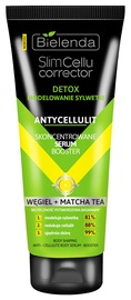 Bielenda Slim Cellu Corrector Condensed Serum Booster Body Modelling Carbon + Matcha Tea Anti Cellulite 250ml