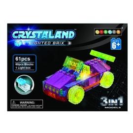 Konstruktorius Crystaland, šviečianti mašina, 3 in 1
