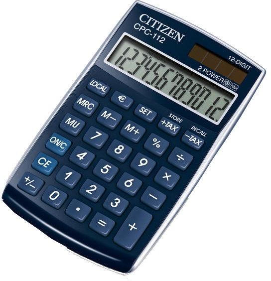 Citizen Calculator CPC 112BLWB