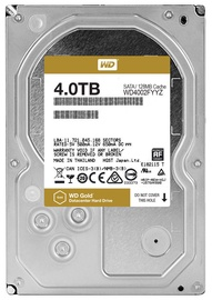 Western Digital Gold 4TB 7200RPM SATA 128MB WD4002FYYZ