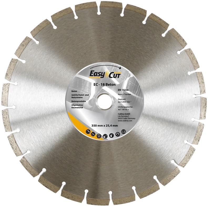 30d28325921 Teemantlõikeketas Cedima EC-17/18, 350x3,2x25,4 mm