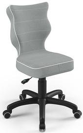 Детский стул Entelo Petit Size 4 JS03, черный/серый, 350 мм x 830 мм