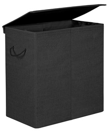 Ящик для белья Songmics Laundry Basket 60x36x66cm Black