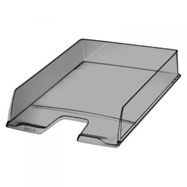 Esselte Document Tray Center Gray Transparent