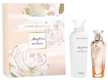 Набор для женщин Adolfo Dominguez Agua Fresca de Rosas Blancas 120 ml EDT + 300 ml Body Lotion