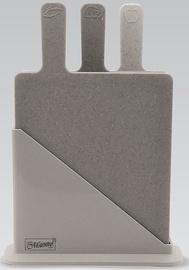 Разделочная доска Maestro, серый, 235x195 мм