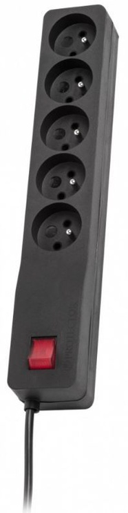 Lestar Surge Protector 5 Outlet Black 3m