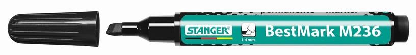 Stanger M236 BestMark Permanent Marker 1-4mm 10pcs Black 712004