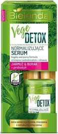 Сыворотка для лица Bielenda Vege Detox Normalizing Face Serum With Beetroot, Kale & Prebiotic, 15 мл