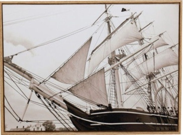 Home4you Print Picture 45x60cm Sail/Ship